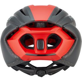 MET Strale Casco, black/red panel